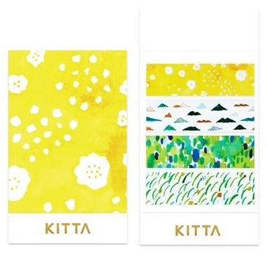 [Pre-order / Shipped on/after Sep. 30th] KITTA Clear Stickers - Mountain