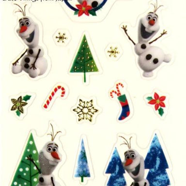 Disney Christmas Stickers - Olaf