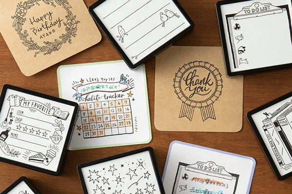 Self-inked Planner Stamp - Travel List