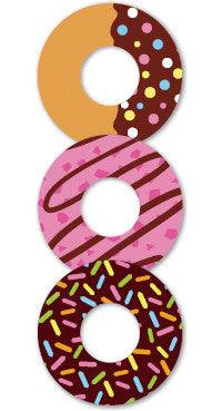 Donuts Seal Stamp Refill Stickers - Donut