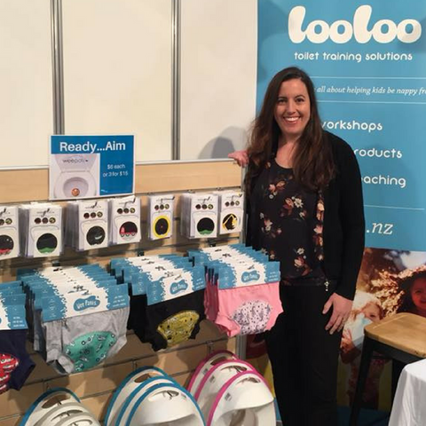 Looloo stand at the Auckland Baby Show