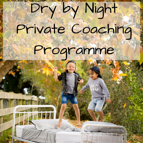 Private coaching programme bedwetting