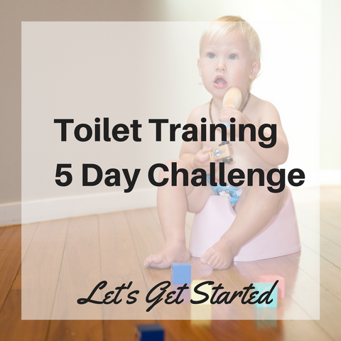 Getting Started with Toilet Training 5 Day Challenge