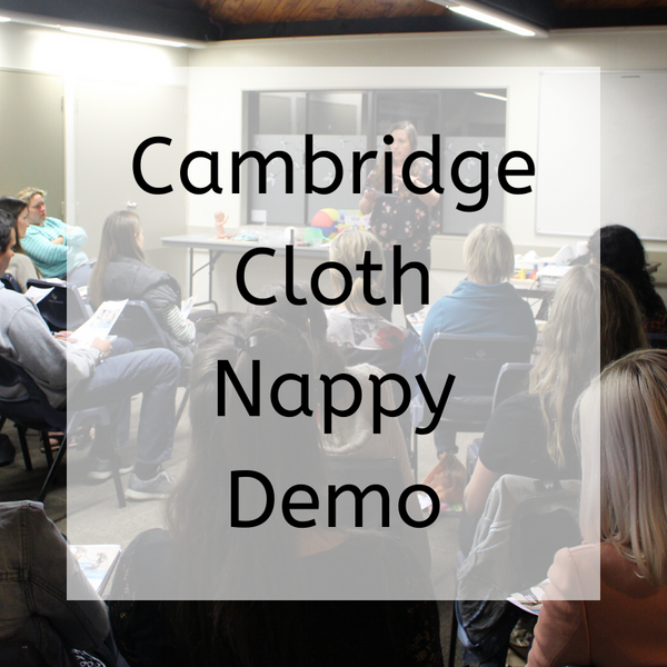 Getting Started with Cloth Nappies Live Workshop 21 January Cambridge