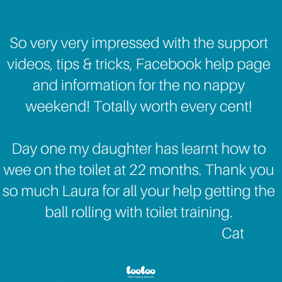 Toilet training workshop