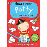 Pirate Pete Potty Colouring Book