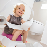 Pink potty for kids