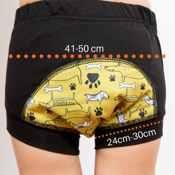 Wee Pants Absorbent Kids Underwear Size 2