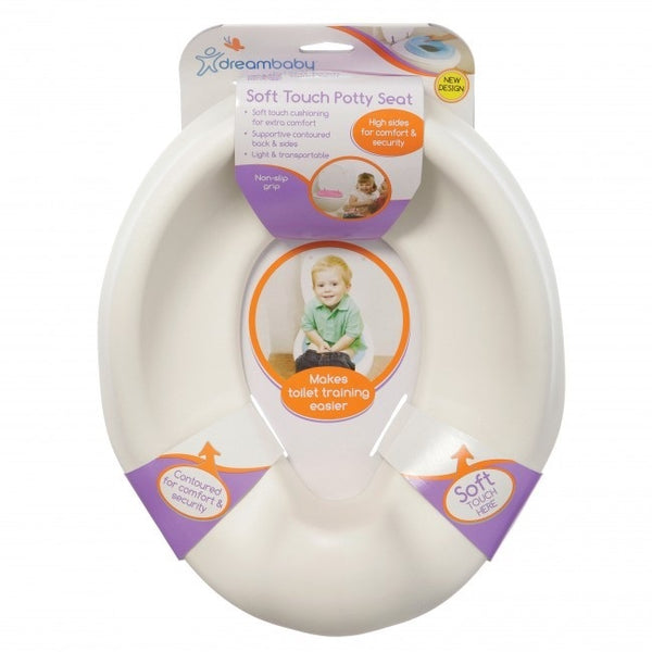 White toilet training kids seat