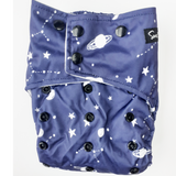 PRESALE Sassy Pants Nappy with Snaps: Space