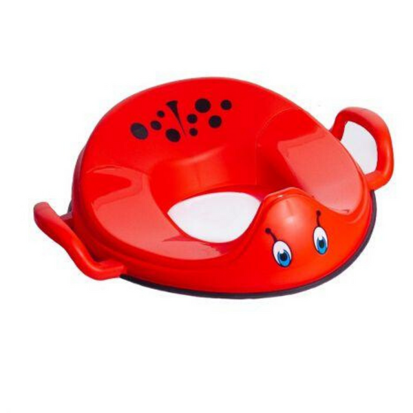 Toilet Training Kids Seat - Ladybird