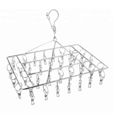 Stainless Steel Nappy Hanger - 36 pegs