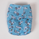 Sassy Pants Nappy with Velcro: Retro Vehicles