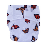Sassy Pants Nappy with Velcro: Monarch