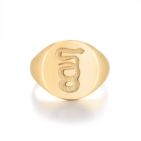NEW: Eternity Signature - Gold ring