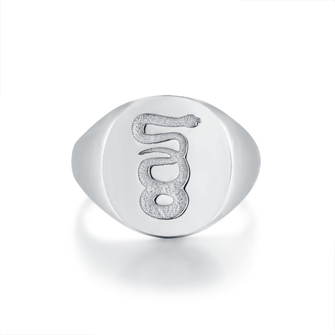 NEW: Eternity Signature - Silver ring