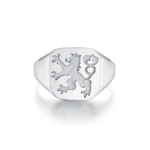 Lionheart Signature - Silver ring