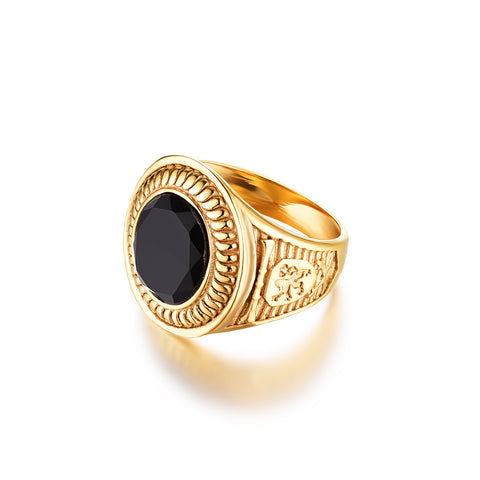 NEW: Nobles Signature - Gold ring