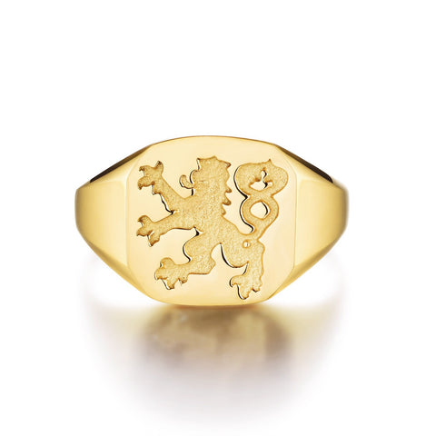 NEW: Lionheart Signature - Gold ring