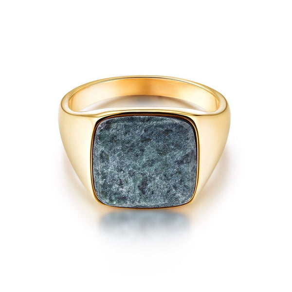 Verde Signature - Gold ring