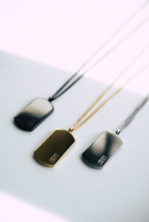 NL army pendant - Gold