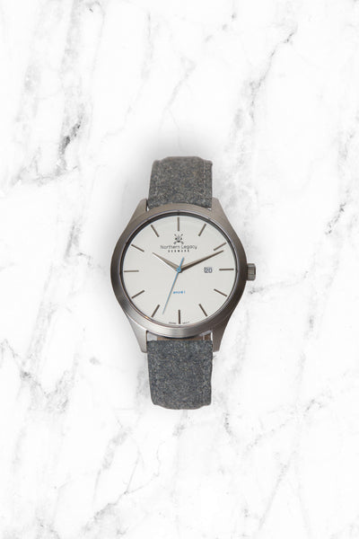 Special offer: Ancré I - Silver Edition + Tweed strap*