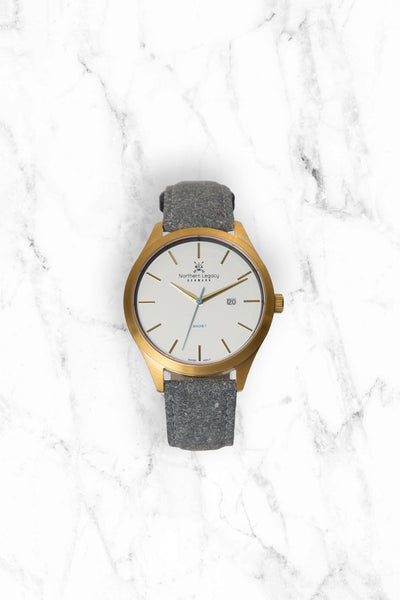 Special offer: Ancrè I - Gold editon w/ Tweed strap*