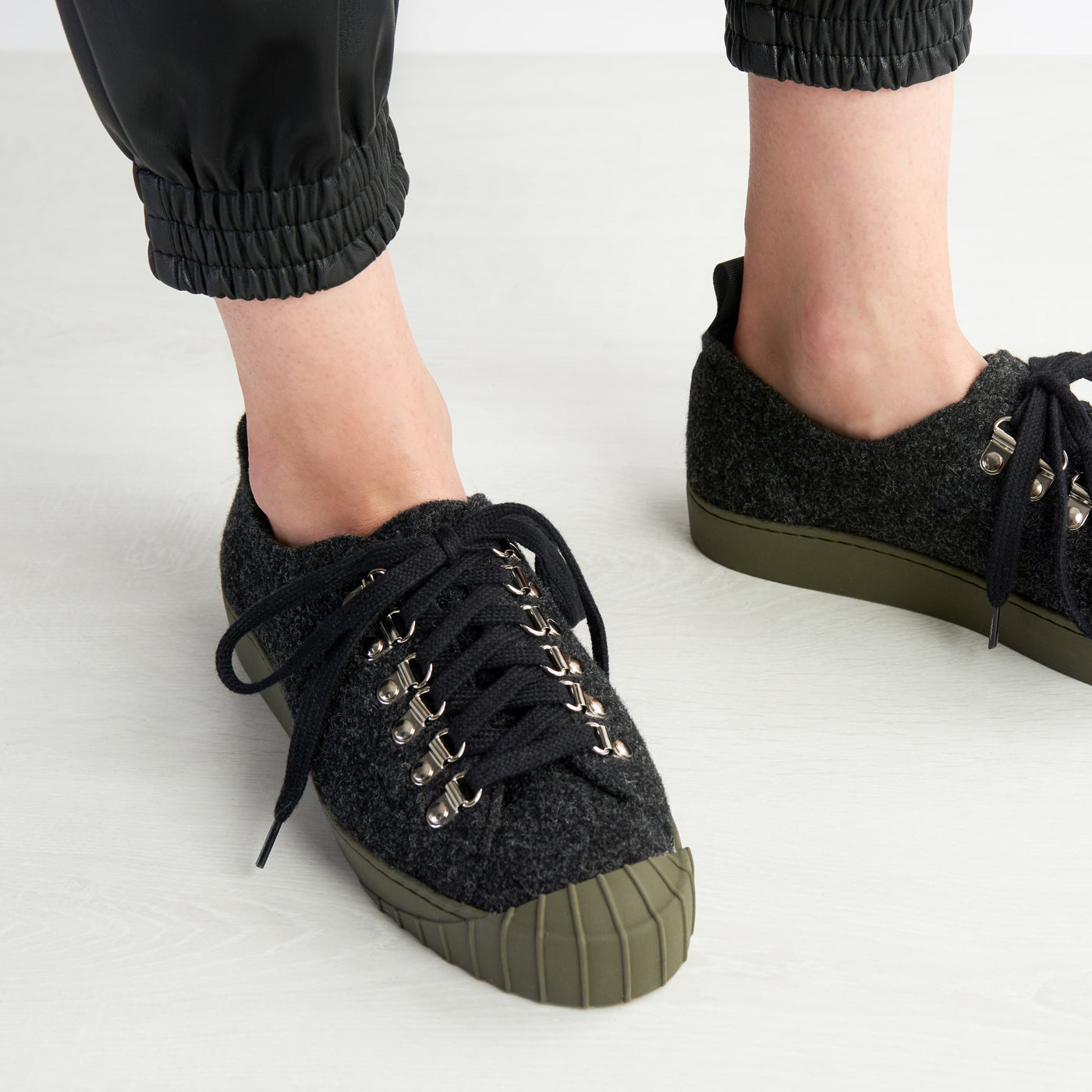 PHIL REWOOL SNEAKER BLACK