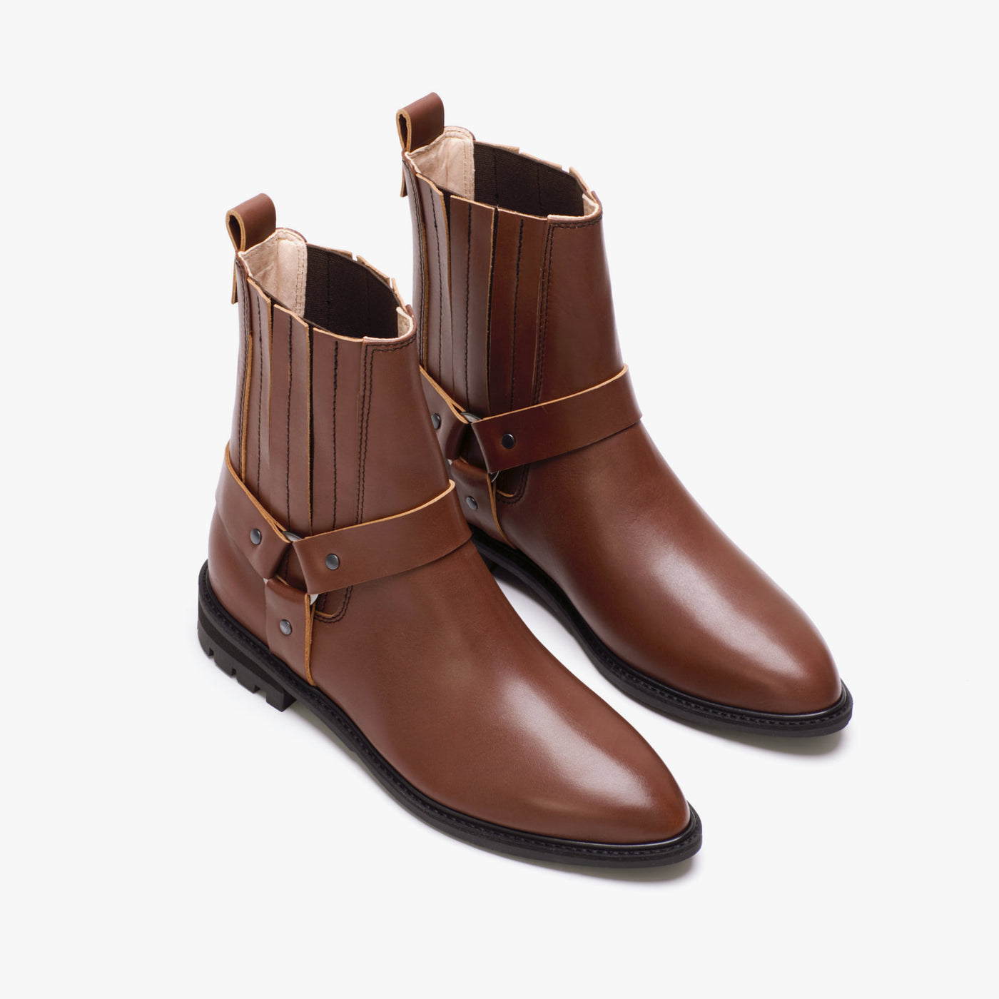 ARTUR STIRRUP BOOT BROWN