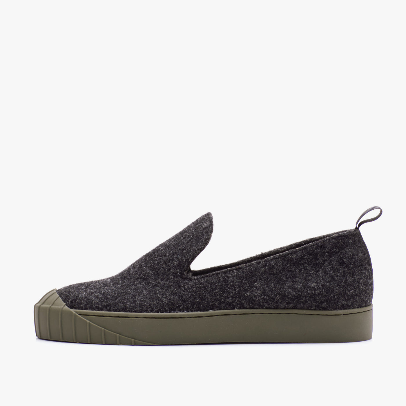 EMMI REWOOL SLIP-ON BLACK