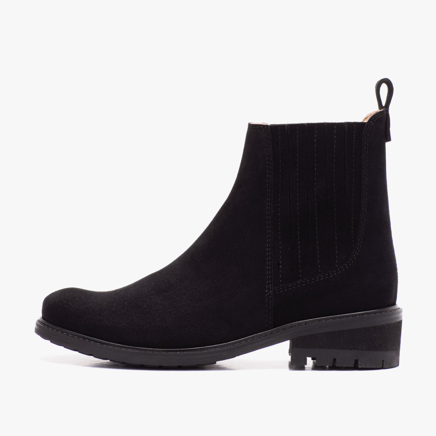 CHELSEA SUEDE BOOT BLACK