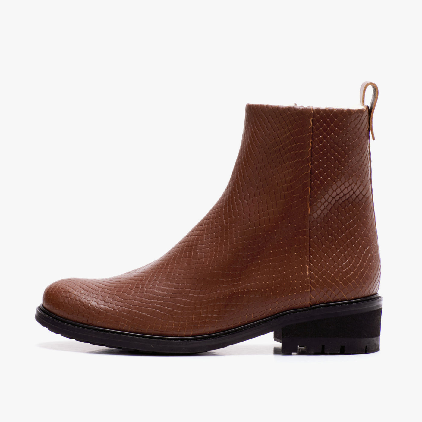 NILS BOOT BROWN LIZARD
