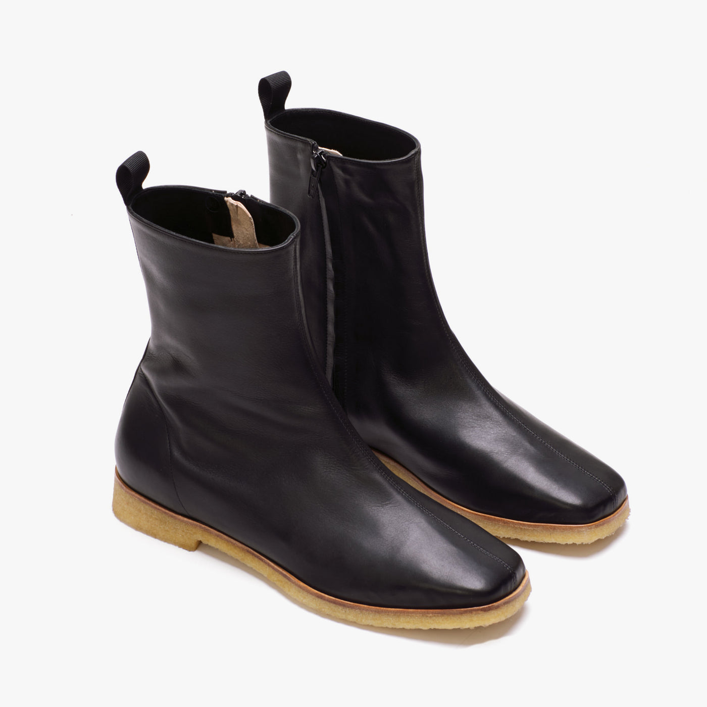 REY CREPE BOOT BLACK