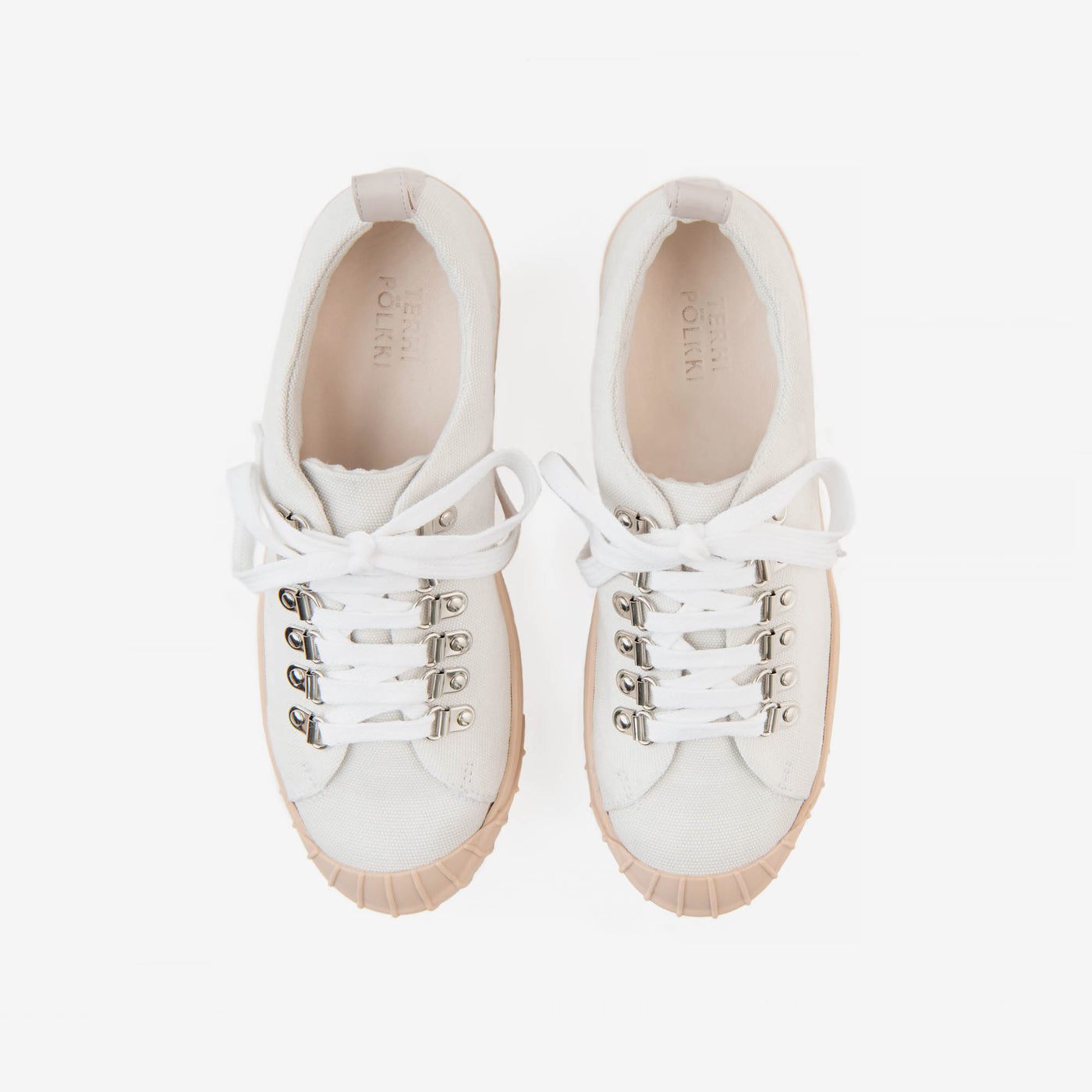 PHIL SNEAKER  ORGANIC CANVAS WHITE