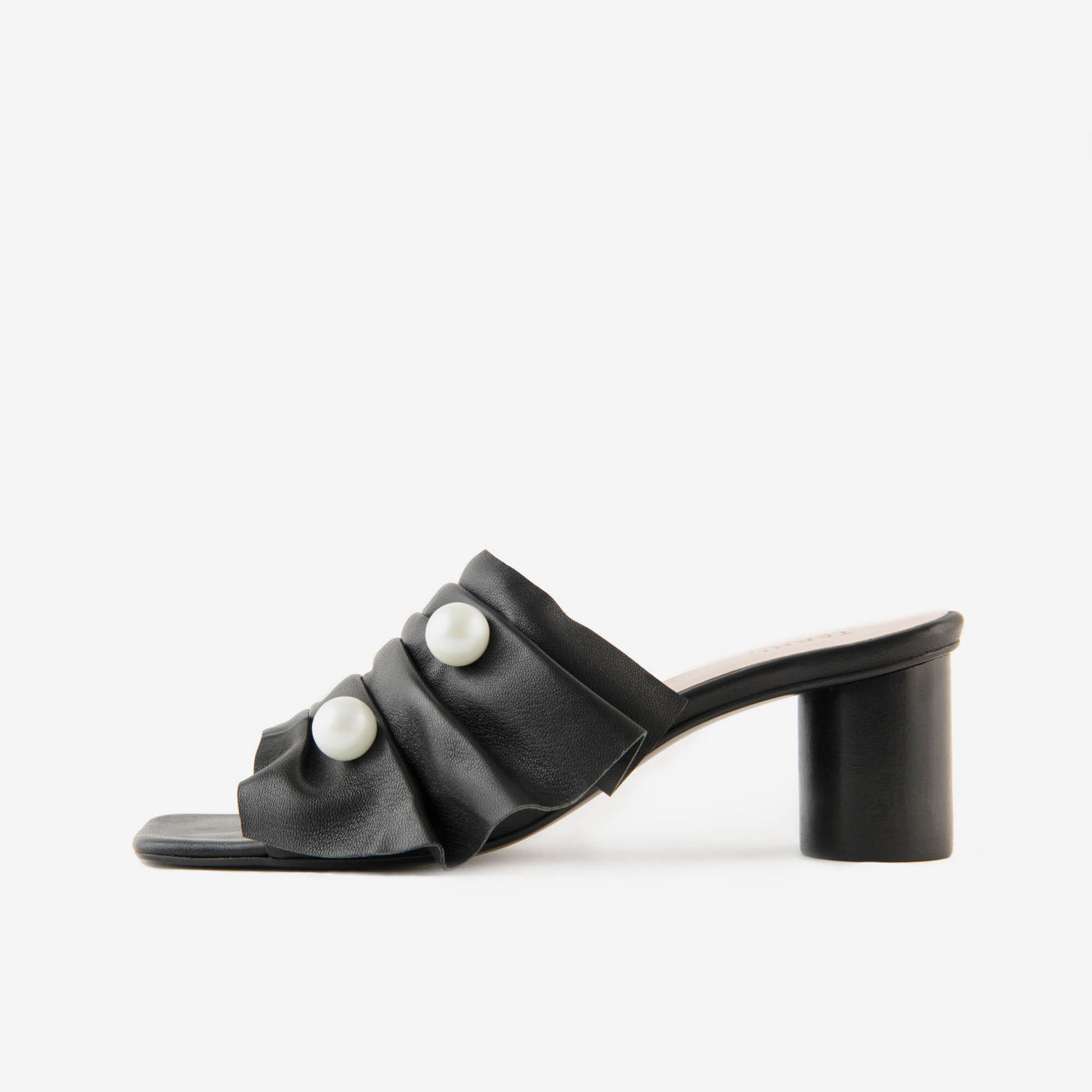 PEPE SQUARE MULE BLACK