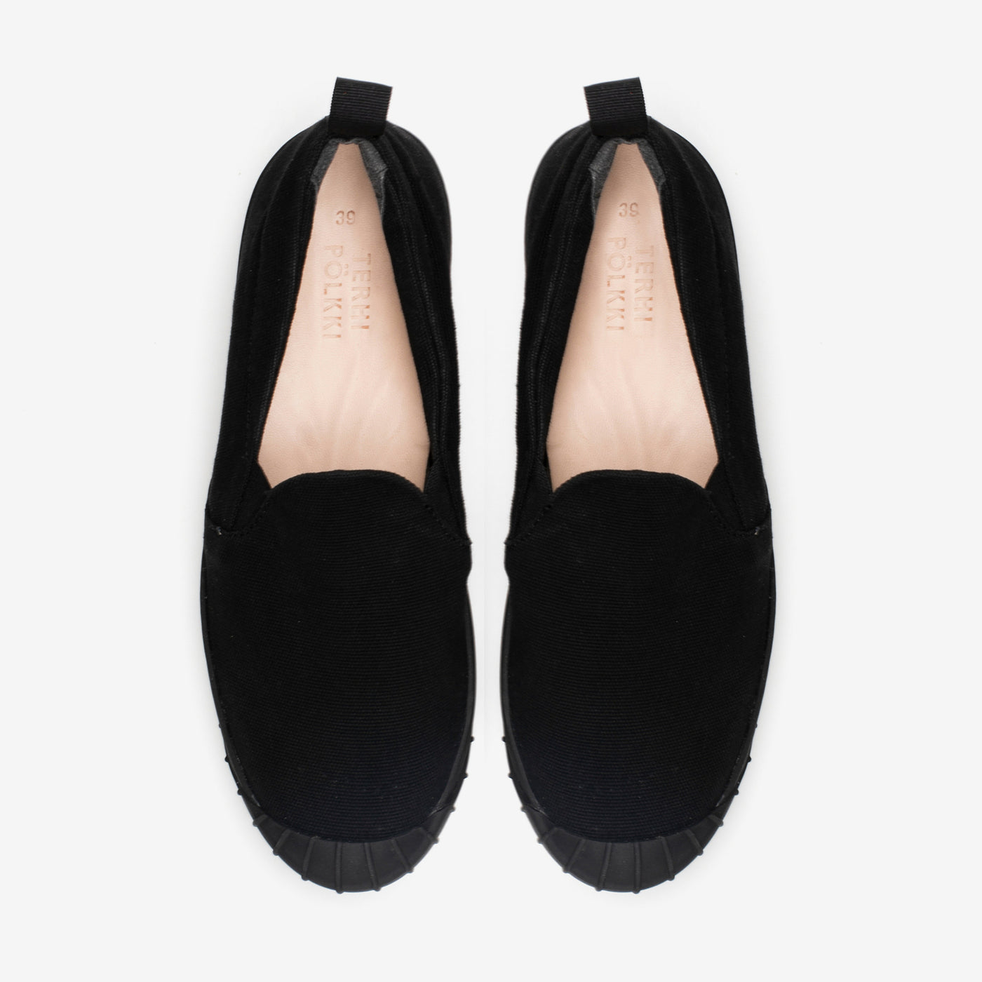EMMI SLIP-ON BLACK
