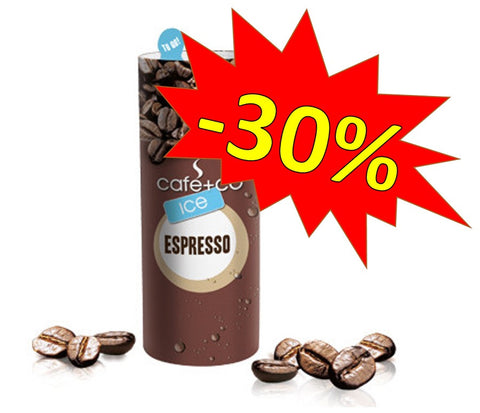 -30% SALE Karton 12x230ml Papierdose, café+co ICE Espresso