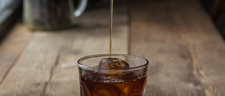 Filter Coffee with a Seasonal Twist. Flash Cold Brew Recipe.