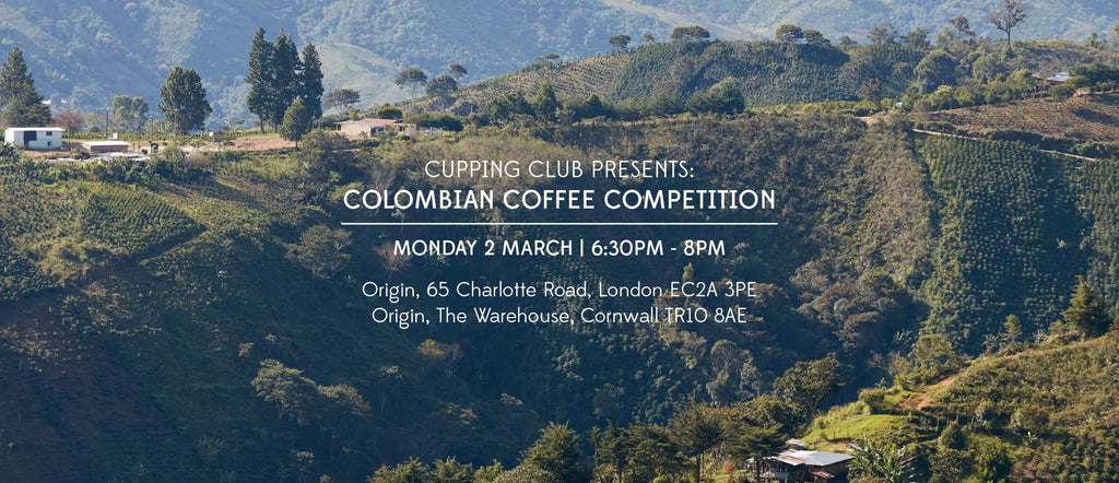 Colombian Cupping Competition