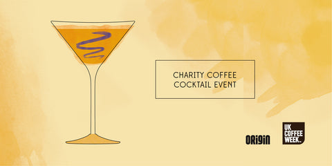 Coffee cocktail event