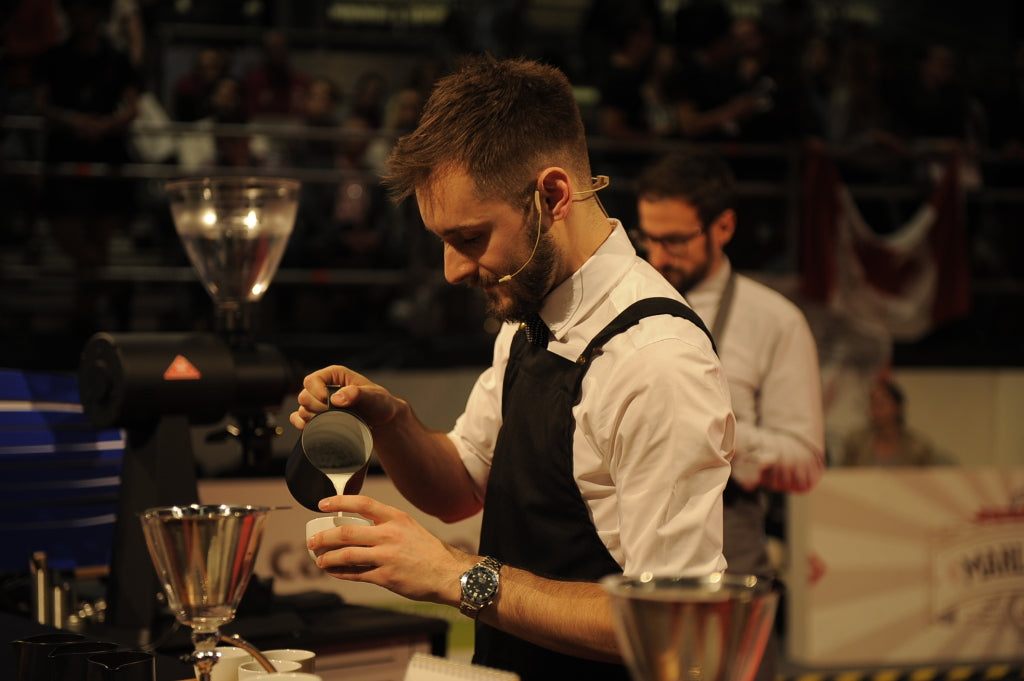 Dan Fellows World Barista Championship Nekisse Milk Beverage