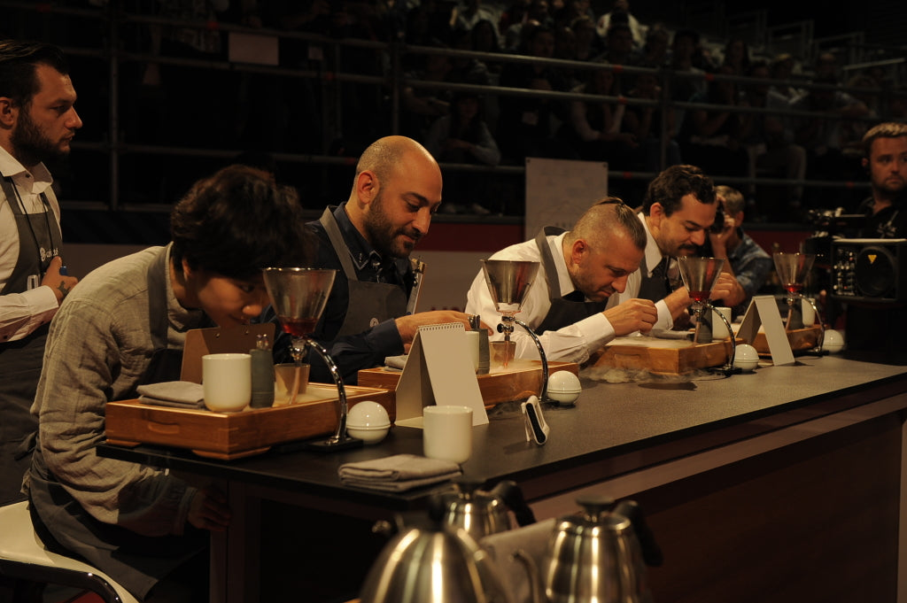 Dan Fellows World Barista Championship Routine. Aroma cloud