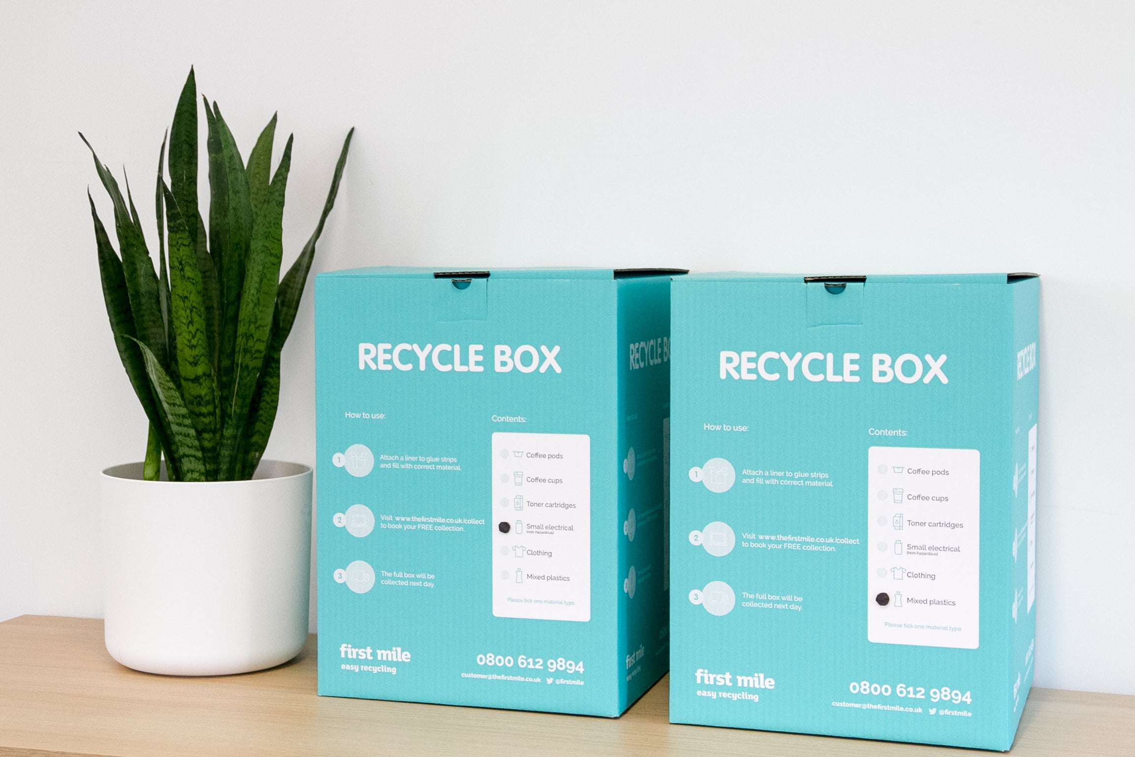 First Mile Recycle Boxes