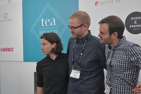 World Tea Brewers Cup in which Will Pitts took third place