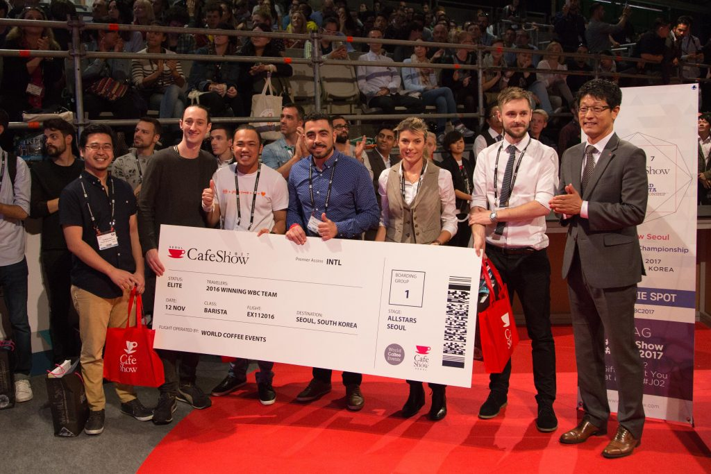 Dan Fellows World Barista Championship Team Win
