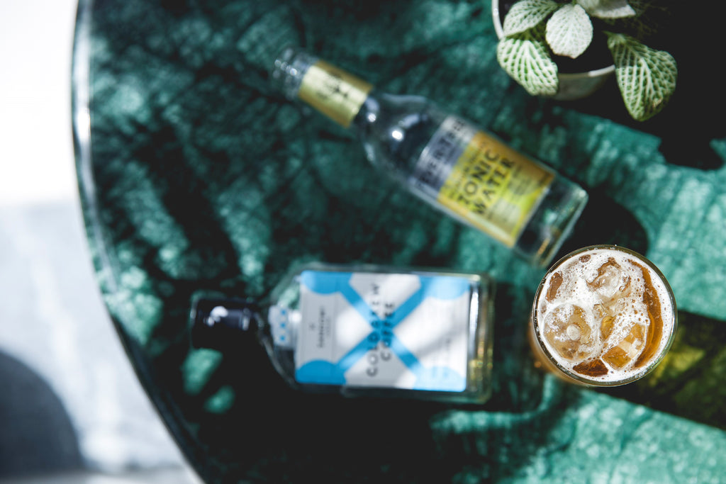 Sandows cold brew with fever tree tonic