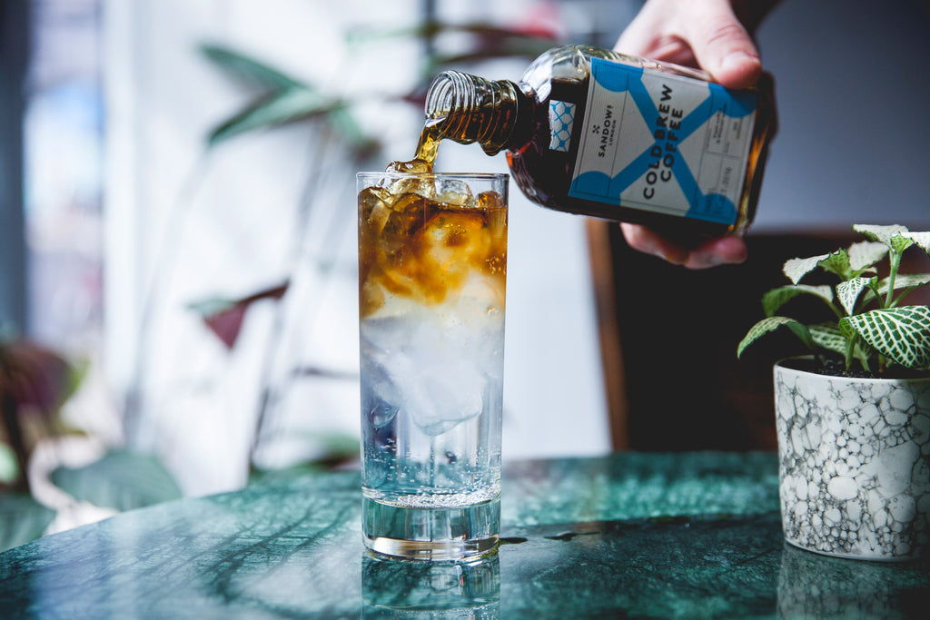 Turbo G&T with Sandows cold brew