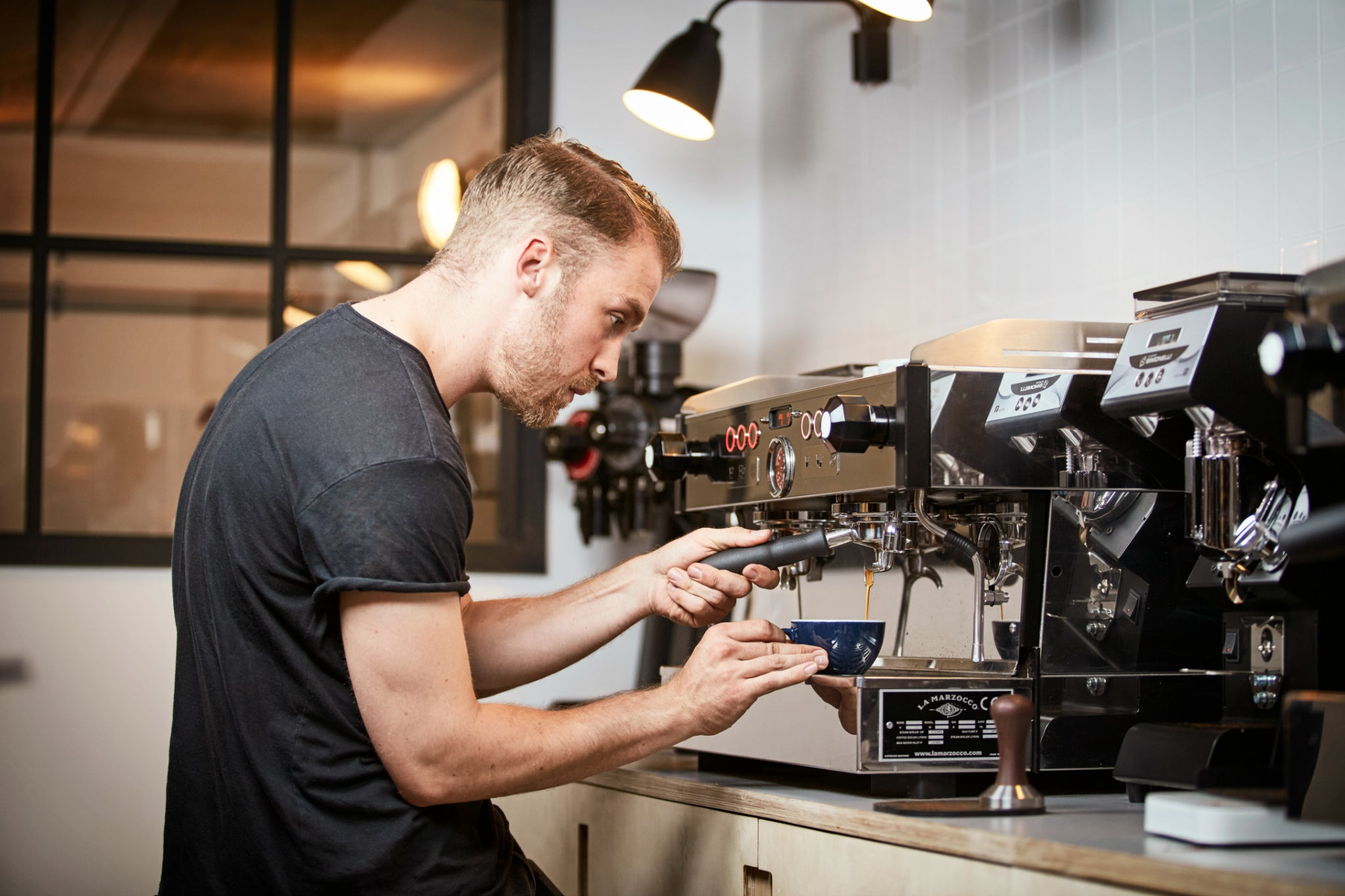 SCAE Barista Skill Courses at our London coffee training lab