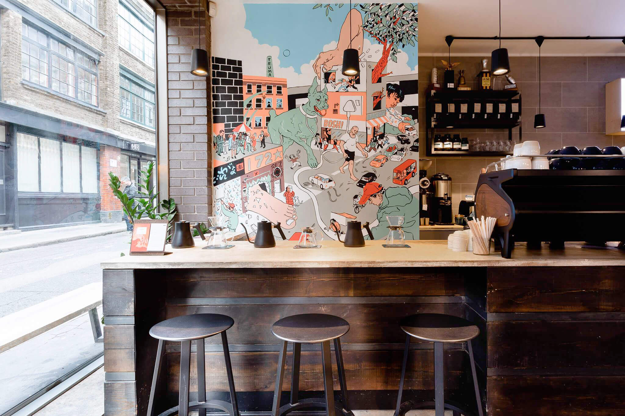 Origin-Coffee-Shoreditch-Mural-Callum-Heath