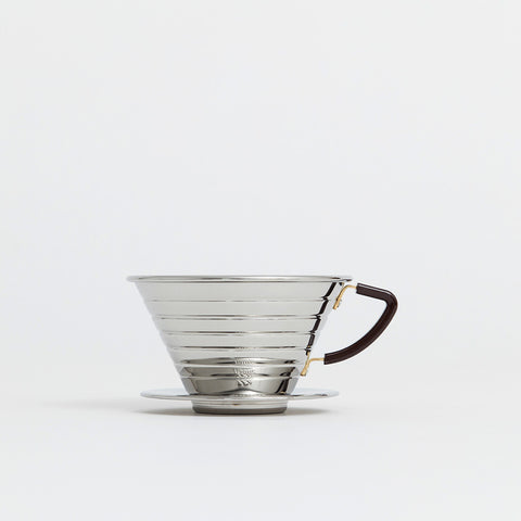 Kalita Wave Stainless Steel Dripper (185)